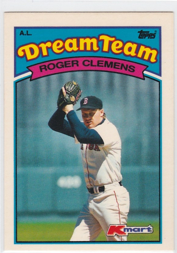 1989 K-Mart Dream Team Roger Clemens