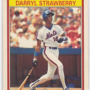 1986 Kay Bee Superstars Darryl Strawberry