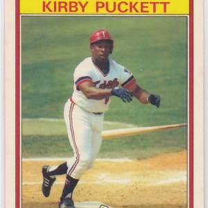 1986 Kay Bee Superstars Kirby Puckett