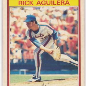 1986 Kay Bee Superstars Rick Aguilera