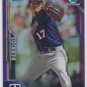 2015 Bowman Chrome Purple Refractor /250 Jose Berrios RC