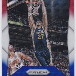 2015-16 Panini Prizm Red White Blue Prizm Rudy Gobert