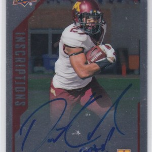 2015 Upper Deck Inscriptions Autograph David Cobb