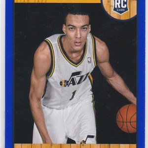2013-14 Panini NBA Hoops Blue Rudy Gobert RC