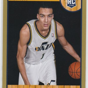 2013-14 Panini NBA Hoops Gold Rudy Gobert RC