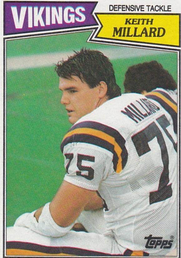 1987 Topps Keith Millard