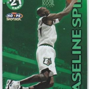 1999-00 Skybox NBA Hoops Calling Card Kevin Garnett