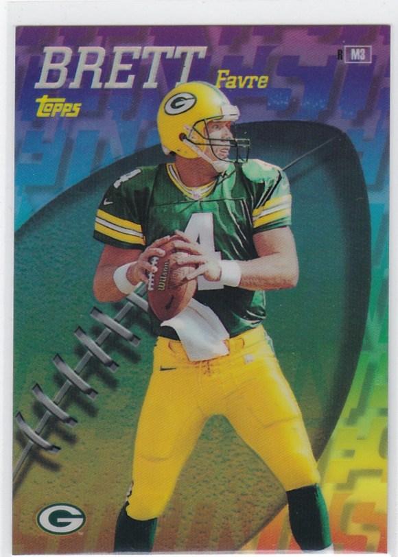 1998 Topps - Mystery Finest Brett Favre