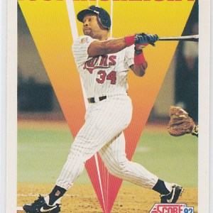 1992 Score 1991 Highlight Kirby Puckett