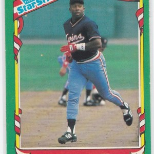 1987 Fleer Star Stickers Kirby Puckett