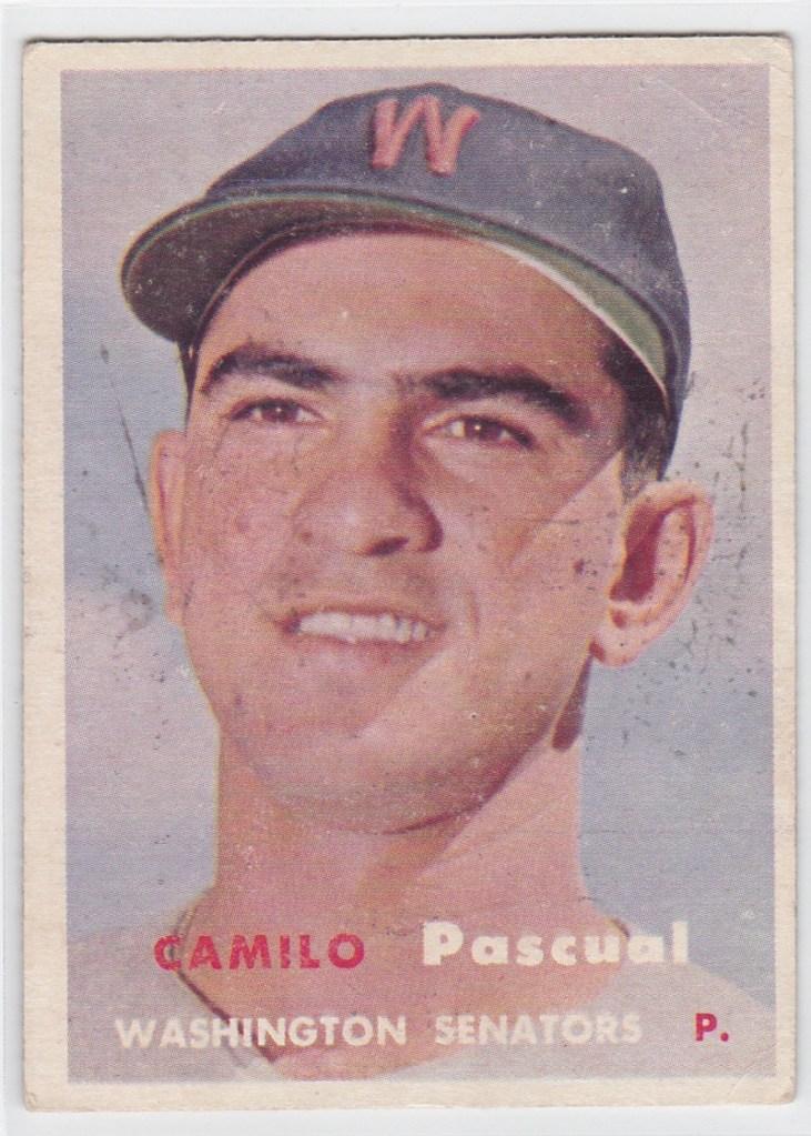 1957 Topps Camilo Pascual