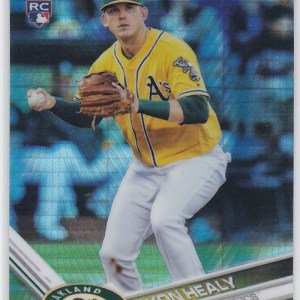2017 Topps Chrome Prizm Refractor Ryon Healy RC