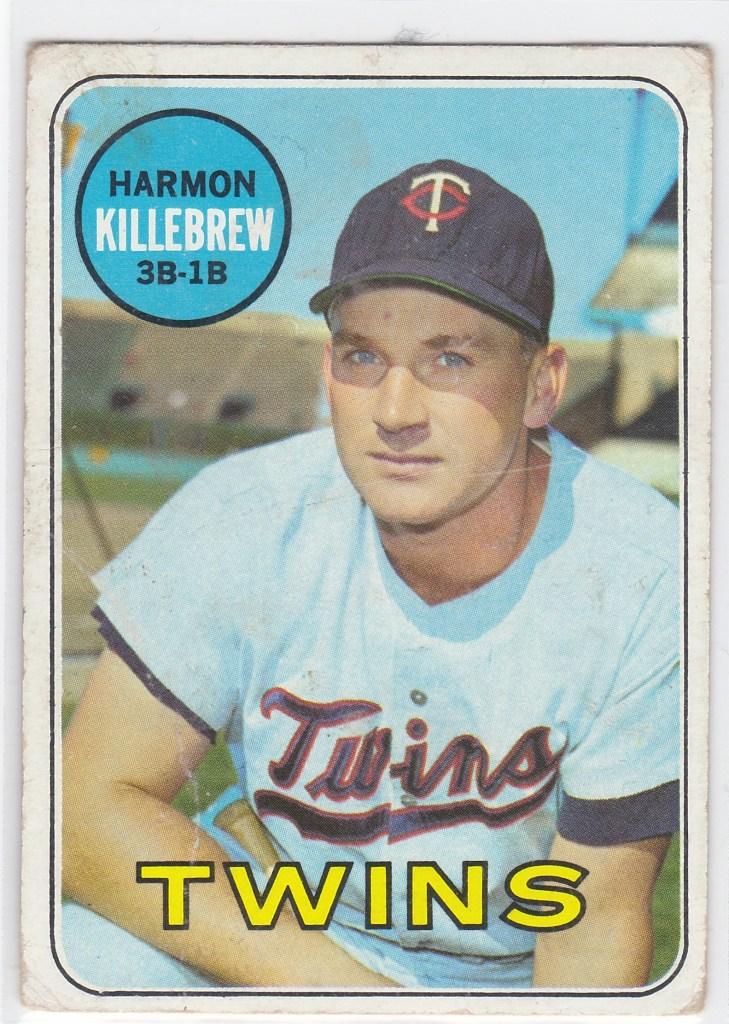 1969 Topps #375 Harmon Killebrew