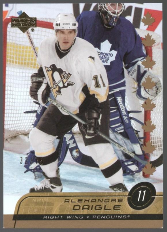 2002-03 Upper Deck Canada Exclusives #389 Alexandre Daigle /75