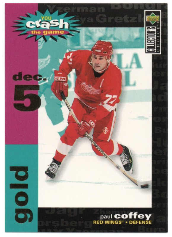 1995-96 Upper Deck Collector's Choice You Crash The Game #C29 Paul Coffey