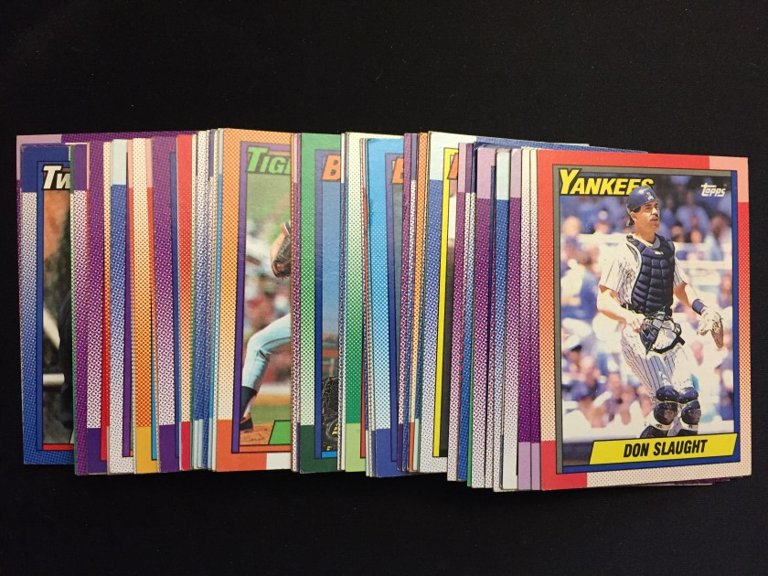1990 Topps Set Needs