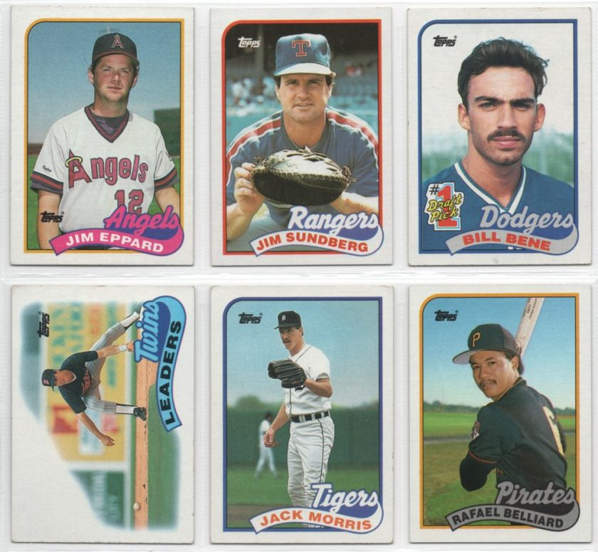 1989 Topps Set Needs