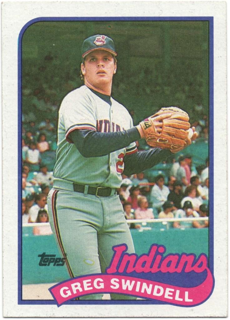 1989 Topps #315 Greg Swindell