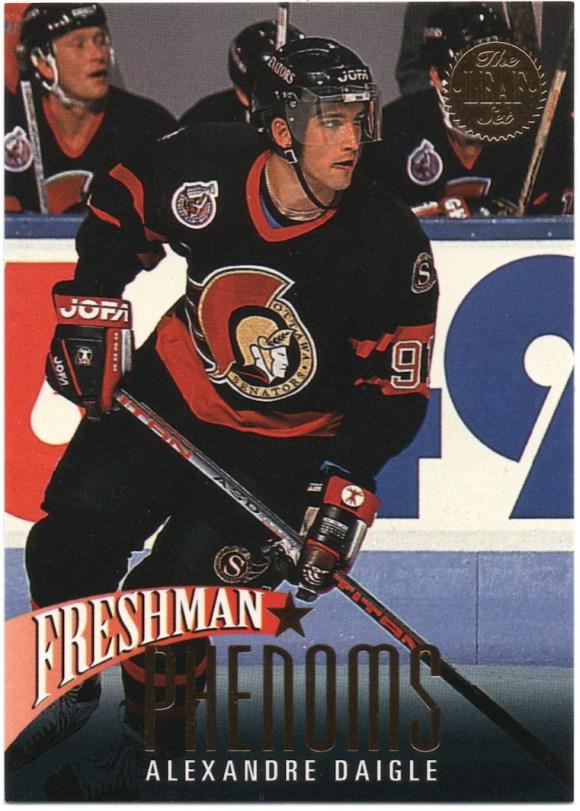 1993-94 Leaf Freshman Phenoms #1 Alexandre Daigle