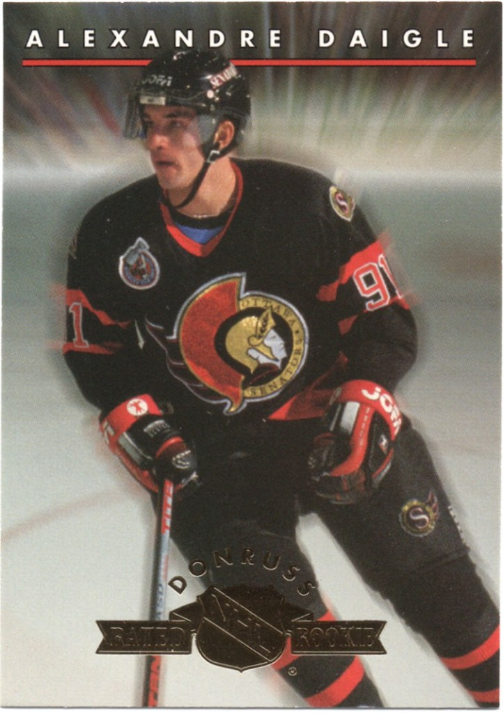 1993-94 Donruss Rated Rookie #1 Alexandre Daigle