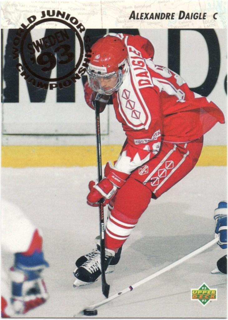 1992-93 Upper Deck #587 Alexandre Daigle