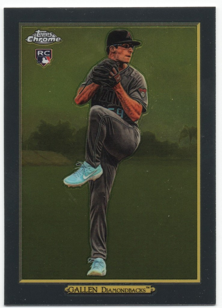 2020 Topps Series 1 Turkey Red Chrome #TRC-50 Zac Allen