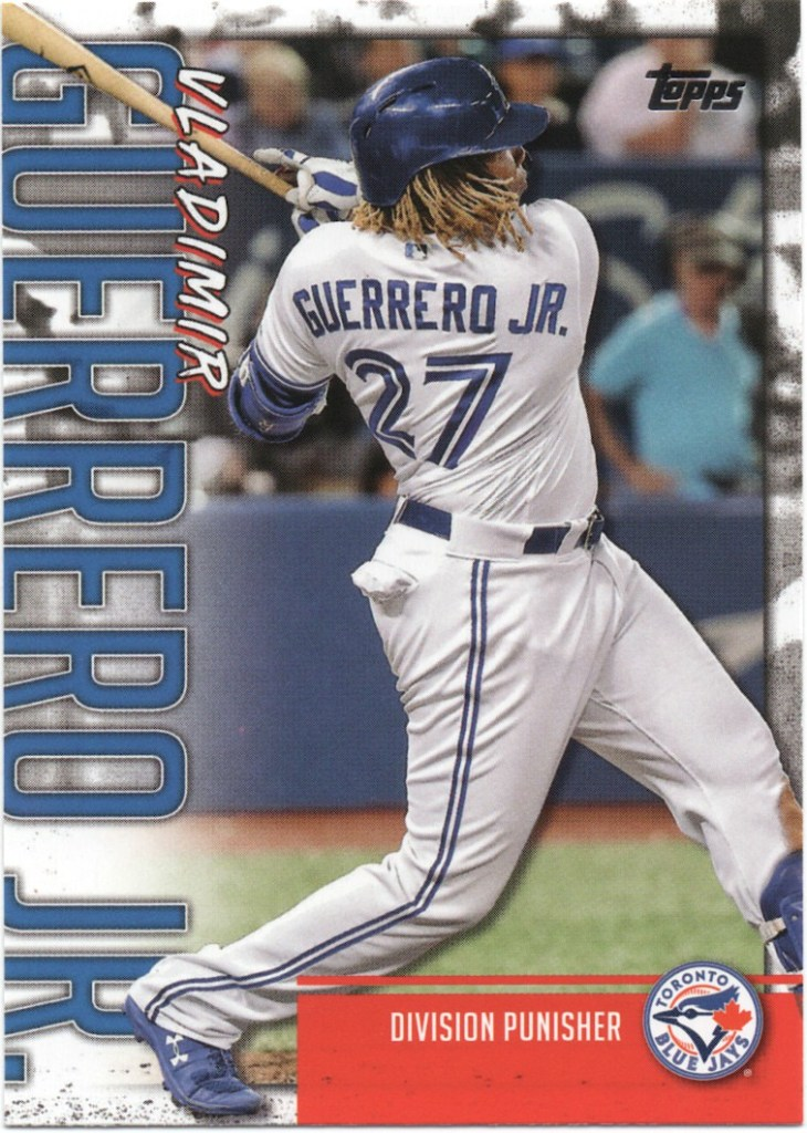 2020 Topps Series 1 Player Highlights Vladimir Guerrero Jr. #VGJ-13