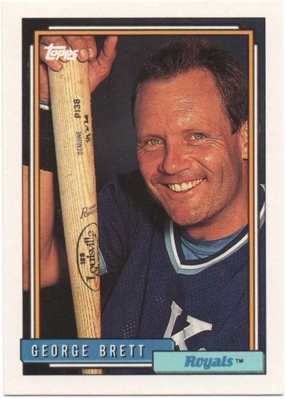 1992 Topps #620 George Brett