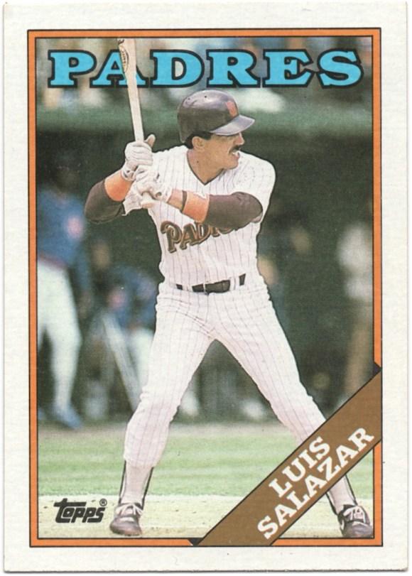1988 Topps #276 Luis Salazar