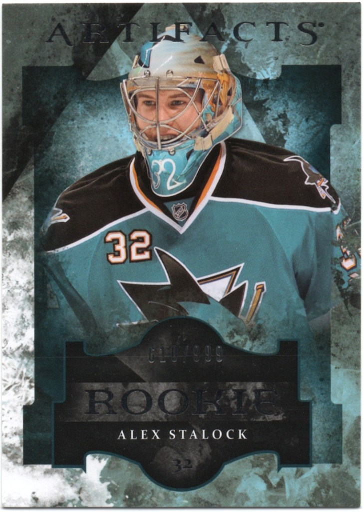 2011-12 Upper Deck Artifacts #191 Alex Stalock /999
