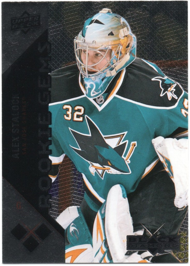 2011-12 Upper Deck Black Diamond #198 Alex Stalock
