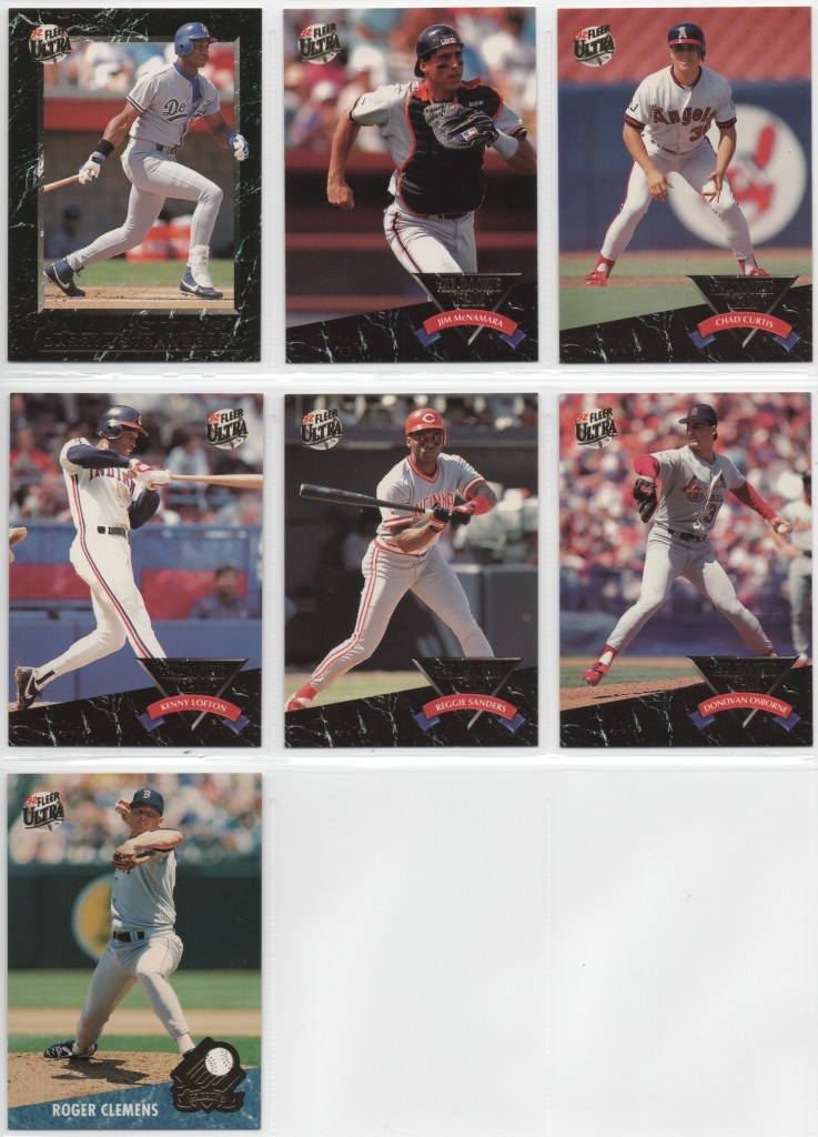 1992 Fleer Ultra Set Needs