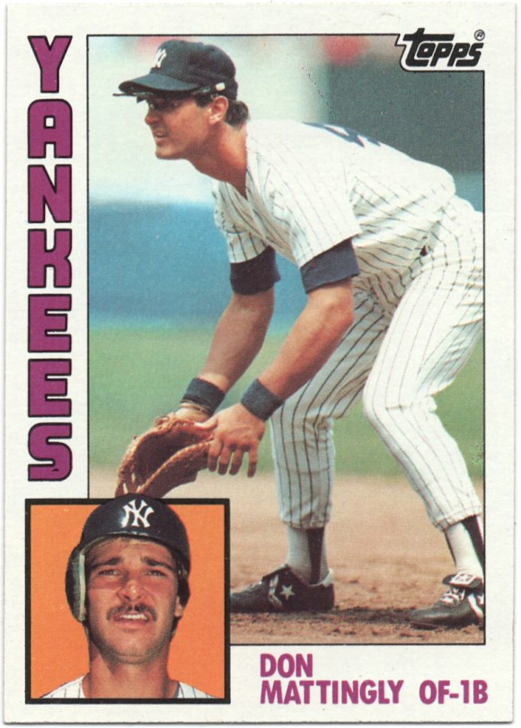 1984 Topps #8 Don Mattingly