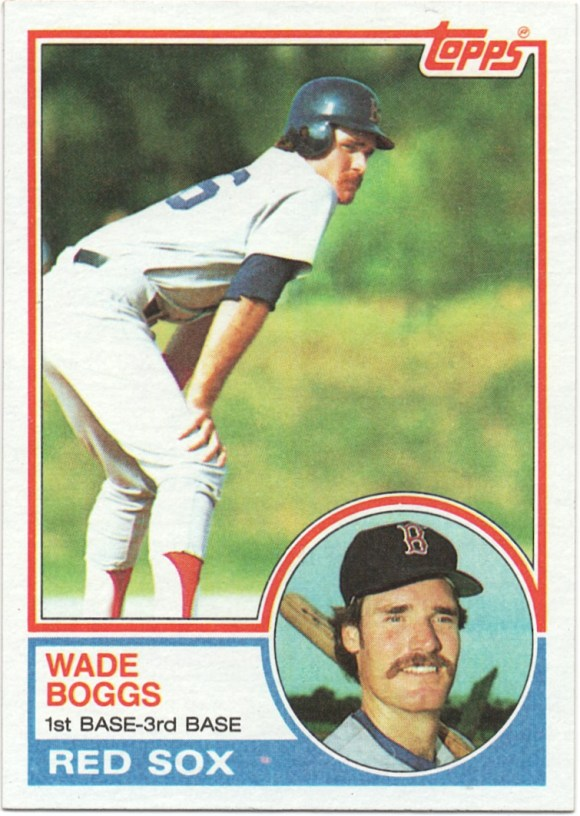 1983 Topps #498 Wade Boggs