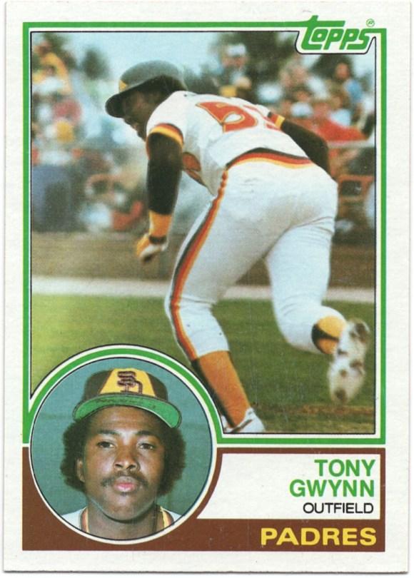 1983 Topps #482 Tony Gwynn