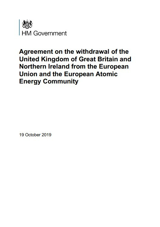 EU WITHDRAWAL AGREEMENT