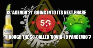 covid 19 agenda 21