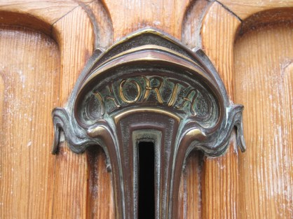 Art Nouveau detail by Victor Horta