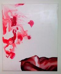 Merry Christmas Metro Station, Acrylic on canvas, 50x60cm