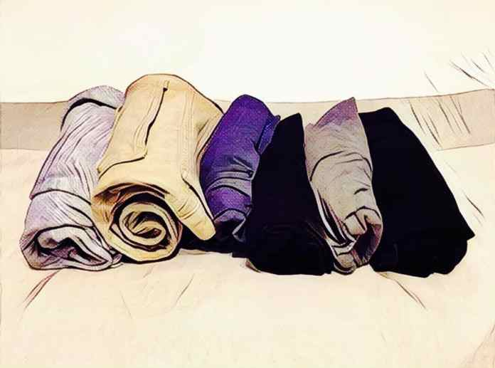 Key to packing your clothes for travel
