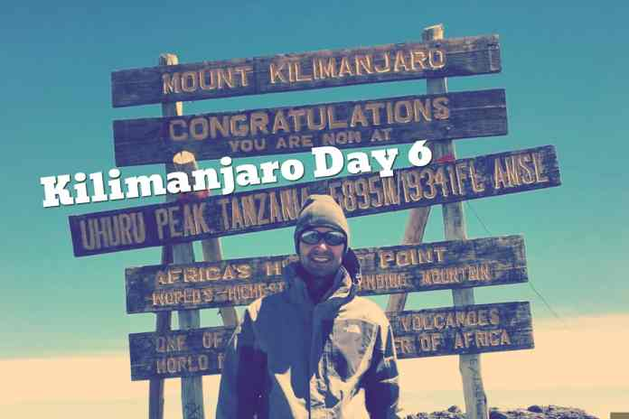 Kilimanjaro Day 6 Summit Day!