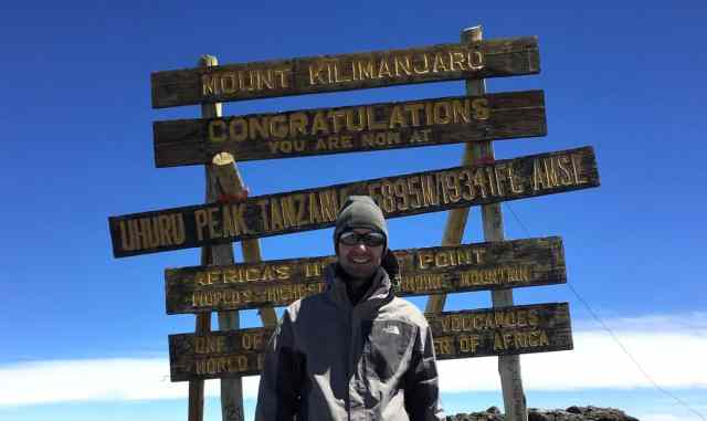 Kilimanjaro Day 6 Summit Day Uhuru Peak_