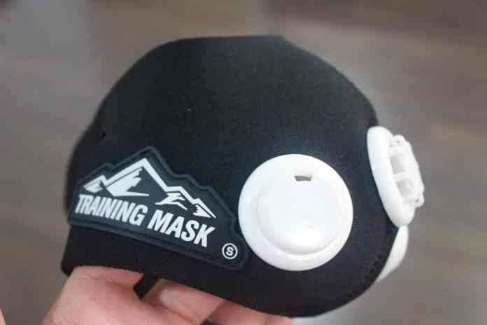 Close Up Of The High Altitude Training Mask 2.0