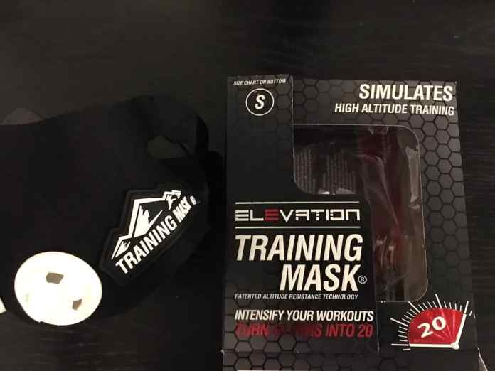 Box with High Altitude Training Mask 2.0
