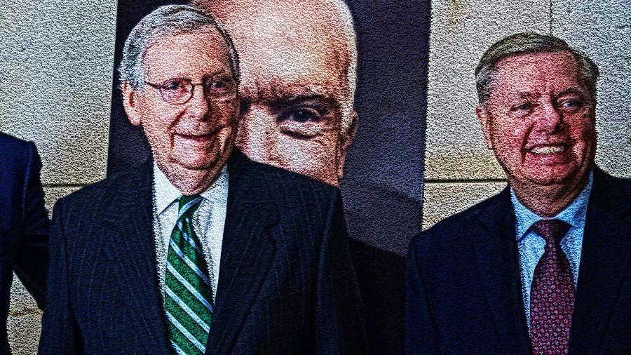 GOP leadership is distancing from Trump. The GOP needs new leadership.