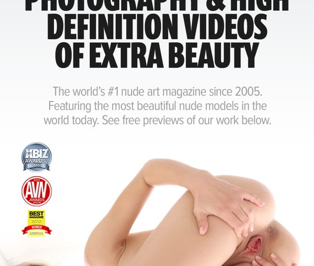 The Worlds 1 Nude Art Magazine Free Previews