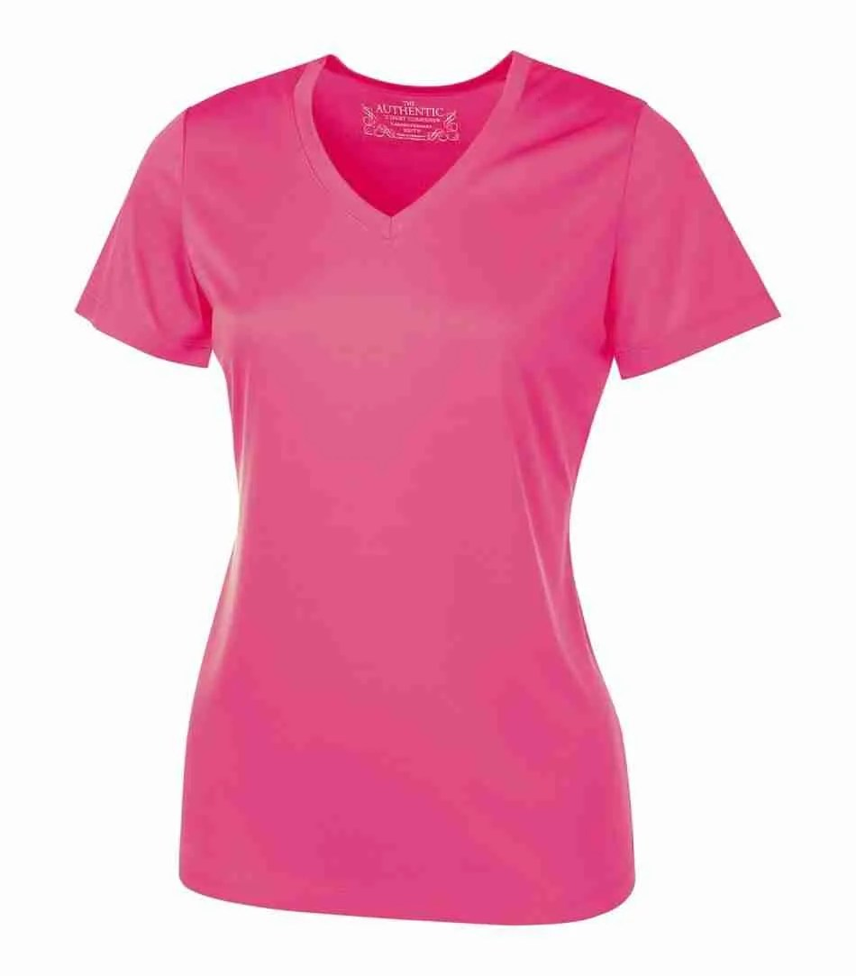 ATC PRO TEAM SHORT SLEEVE V-NECK LADIES' TEE L3520