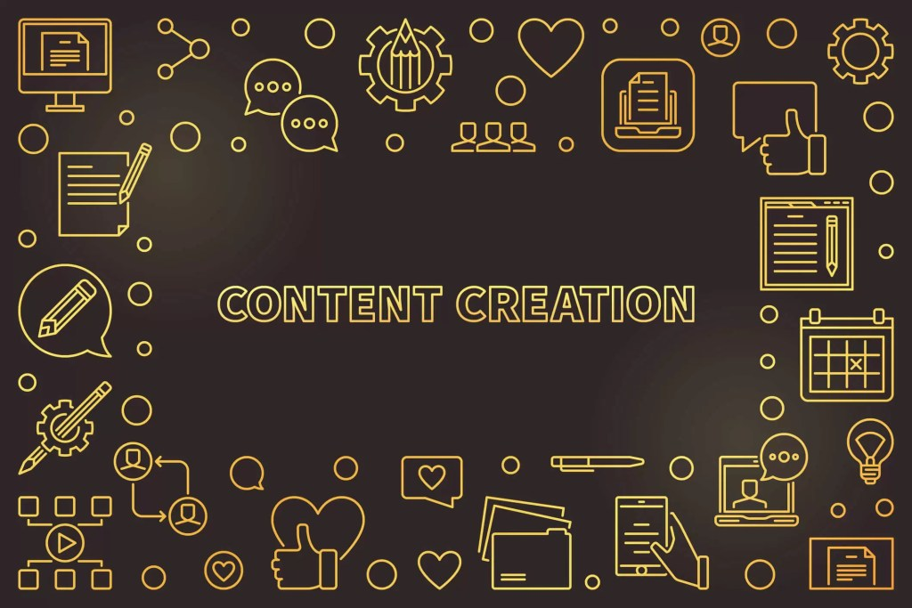 Content Creation with social media reaction icons