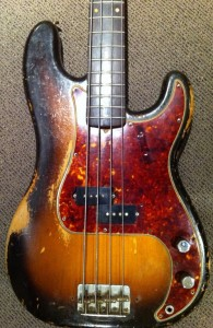 1959 Fender P Bass owned by Klaus Voorman