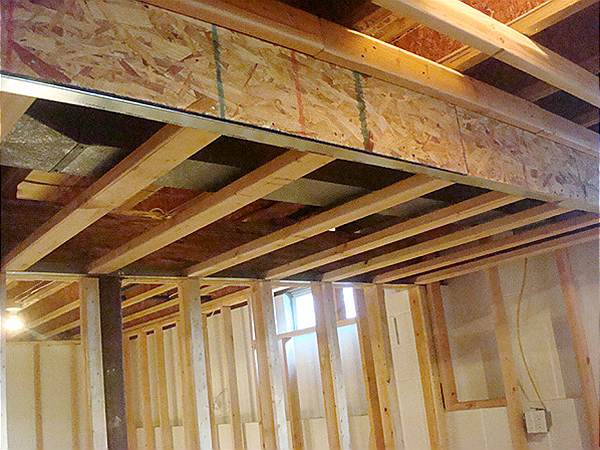 Basement Framing Example 1